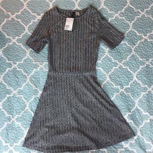 NWT size 2  H&M gray dress